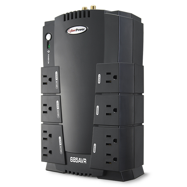 CyberPower 390W UPS Battery Backup