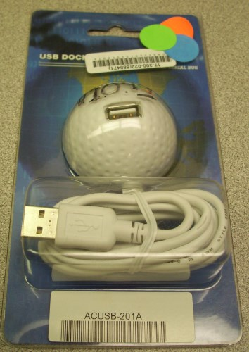 1-port USB Extension Docking Ball