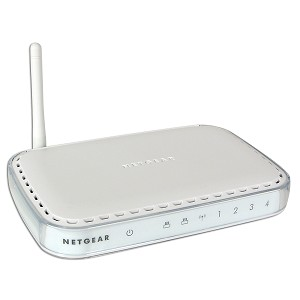 Netgear 4-port Wireless Print Server