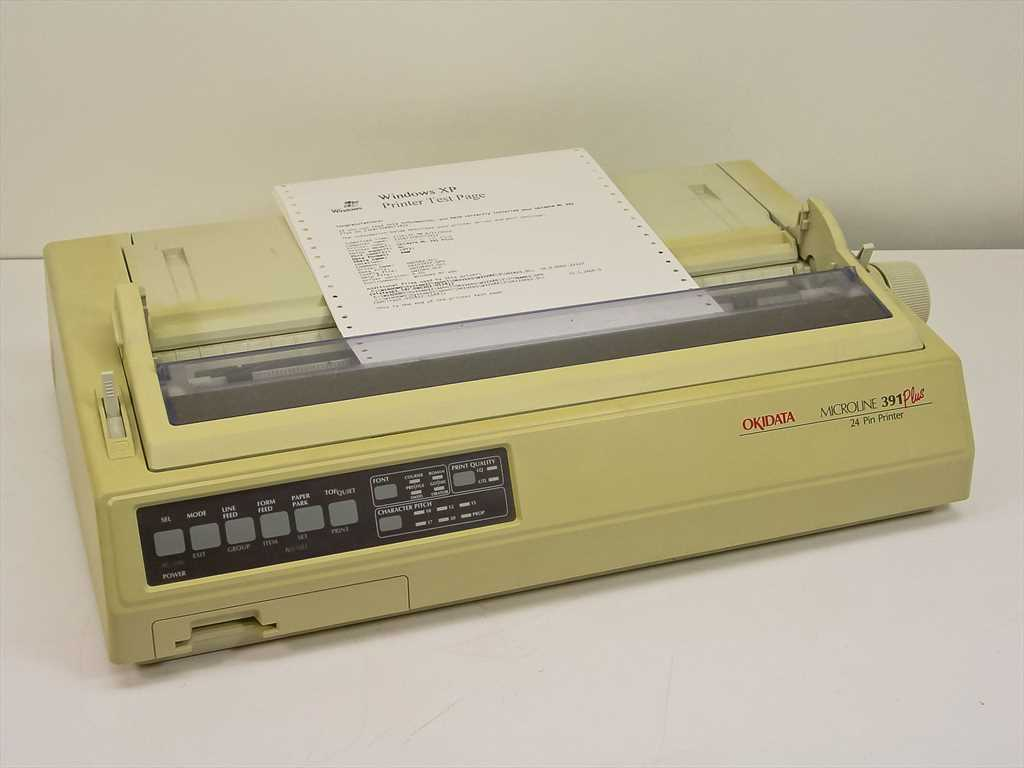 OKI Data MicroLine 391 Plus Printer