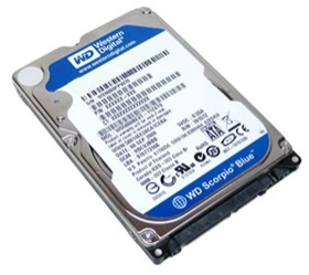WD 320GB SATA Laptop HD (Blue)
