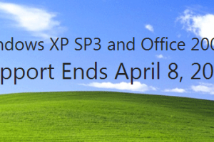 Windows XP Support is Ending Soon