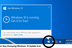 How to Remove Windows 10 Notification