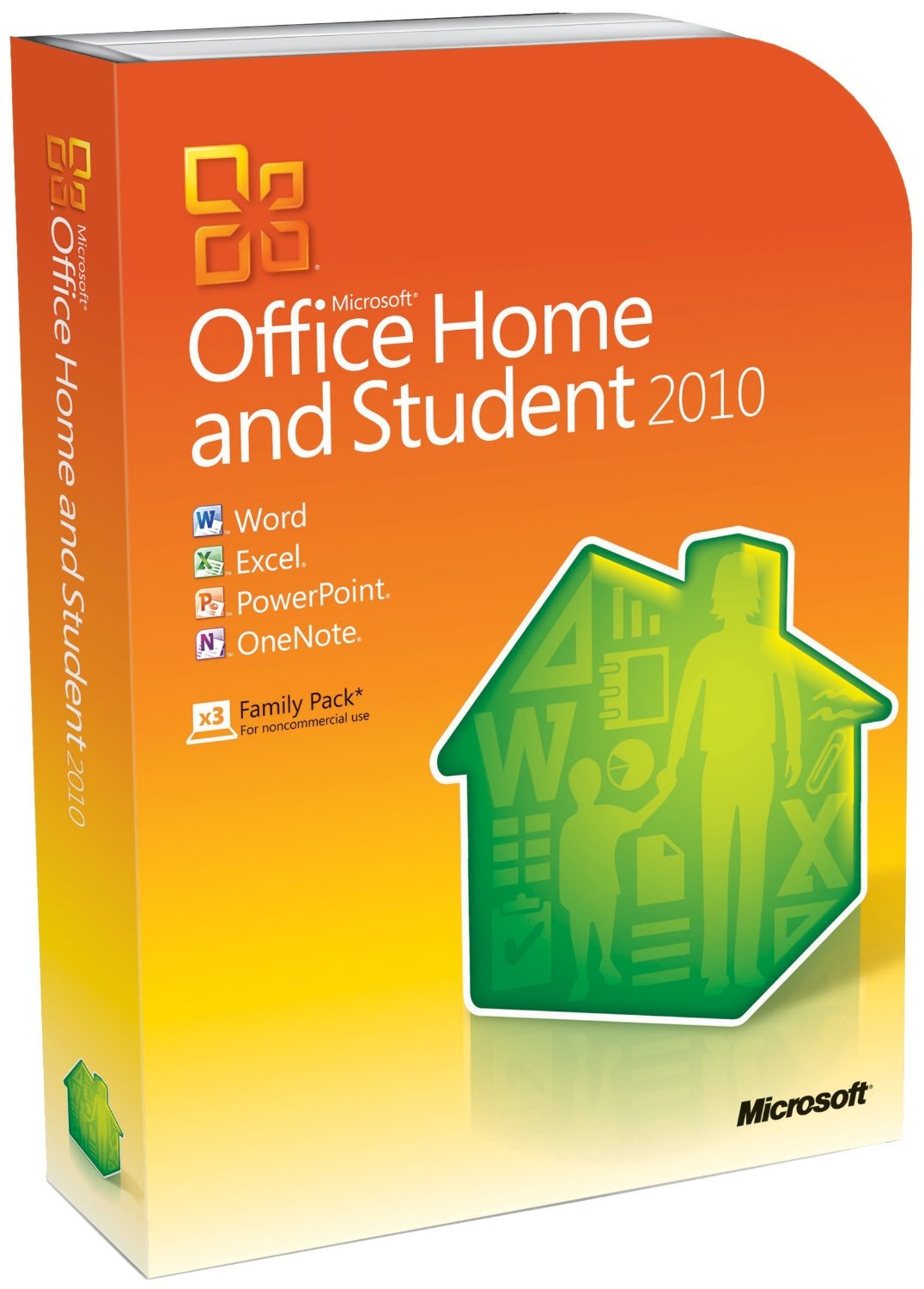 microsoft office home and student 2010 download with product key