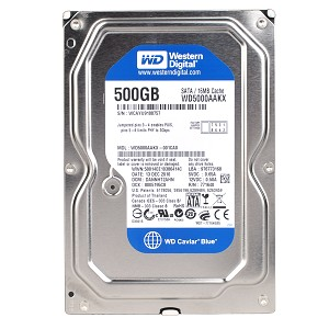 WD 500GB SATA Desktop HD